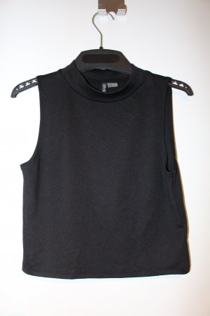 H&M Top tipo bustier negro