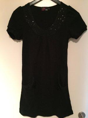 Schwarzes Baumwollkleid von Yumi