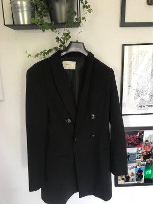 Schwarzes Blazer Kleid