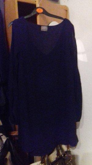 schwarzes Blusen kleid
