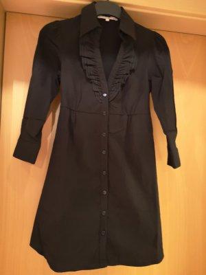 Schwarzes Blusenkleid Gr. 34 Tally Weijl wie neu