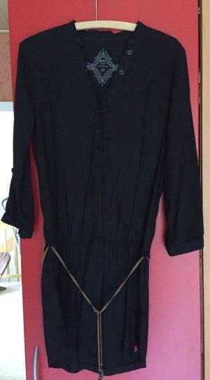 Schwarzes Blusenkleid von Esprit in Gr. 34