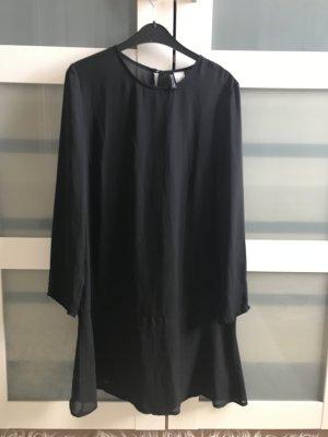 Schwarzes Blusenkleid von H&M