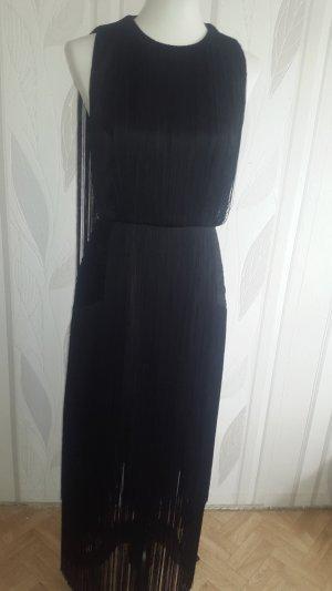 Schwarzes Bodenlanges Kleid