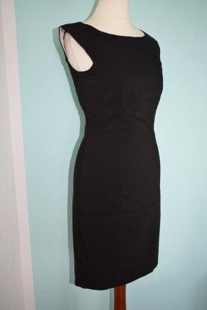 schwarzes Business Etui Kleid Gr. 34  das kleine Schwarze