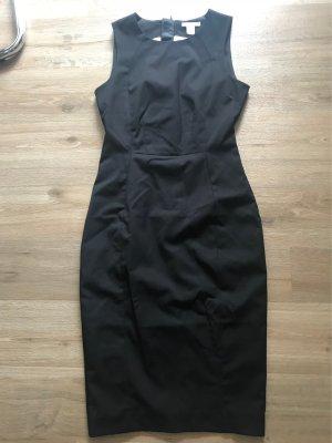 Schwarzes Business Kleid