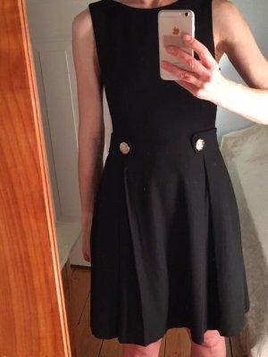 Schwarzes Business-Kleid, mint & berry