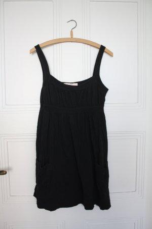 schwarzes Bustierkleid Größe L