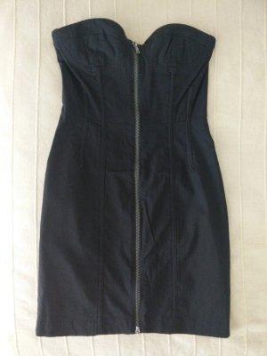 schwarzes Bustierkleid von H&M