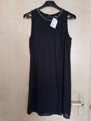 Schwarzes Chiffon Kleid von H&M Größe 38