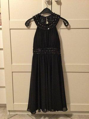 Schwarzes Cocktailkleid   Abendkleid