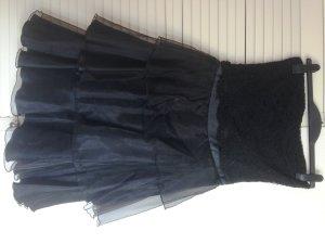 schwarzes Cocktailkleid Gr. 40