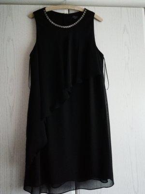 Schwarzes Cocktailkleid Gr. 42