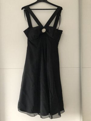Schwarzes Cocktailkleid in Größe 36
