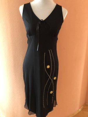 Alba Moda Robe de cocktail noir polyester