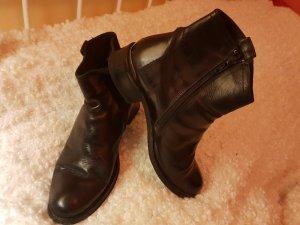 schwarzes ,,Comme des Garçons .. echtes Leder Stiefeletten