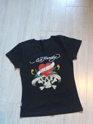 Schwarzes cooles T-Shirt