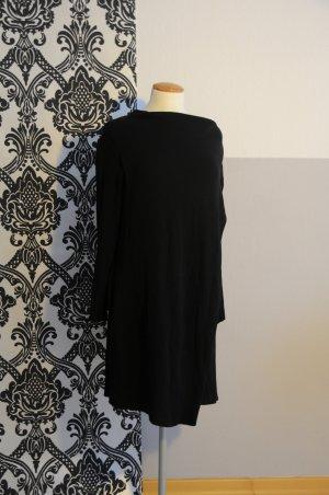 schwarzes COS Pulloverkleid Grösse S