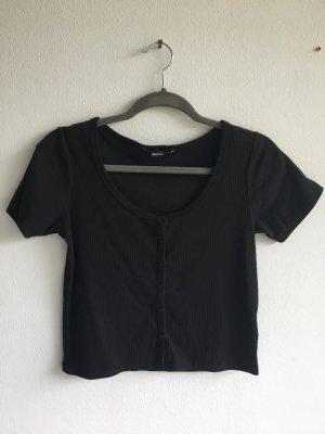 Bik Bok Cropped Top black polyester