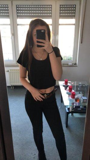 Tally Weijl Cropped shirt zwart