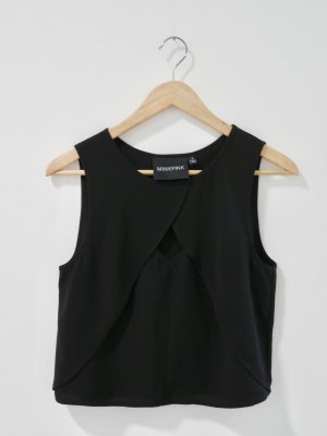 Minkpink Haut cut-out noir