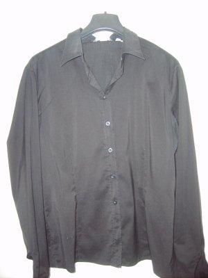 Schwarzes Damenhemd in Gr. 42