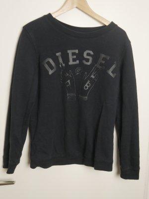 schwarzes DIESEL Sweatshirt