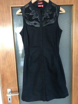 schwarzes/dunkelblaues schickes Kleid
