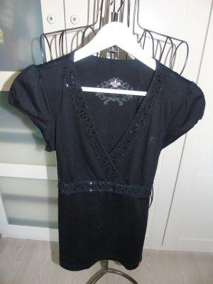 schwarzes edles Shirt von Esprit