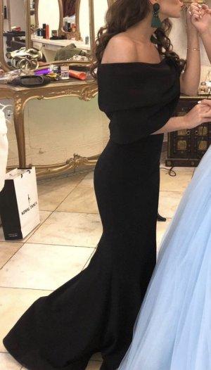 Schwarzes elegantes Abendkleid