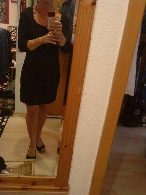 schwarzes elegantes Minikleid von HM in M
