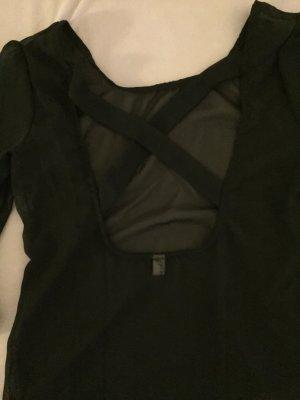 Schwarzes, elegantes, Schickes Oberteil