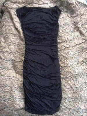 schwarzes enges Stretchkleid Gr.38