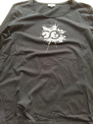 Schwarzes Escada Sport langärmelige Shirt