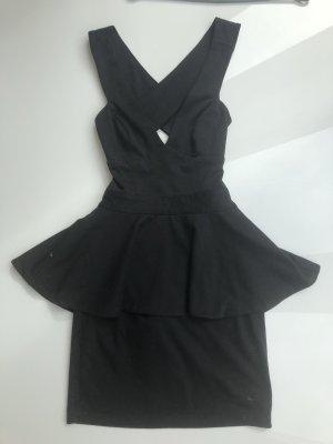 Asos Peplum jurk zwart