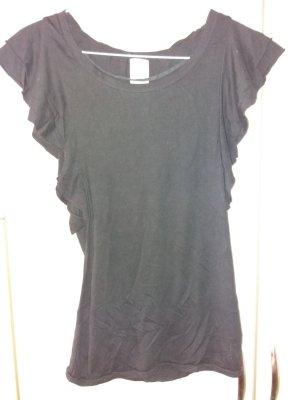 Schwarzes, feines Shirt, Größe M