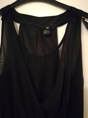 schwarzes festliches Kleid