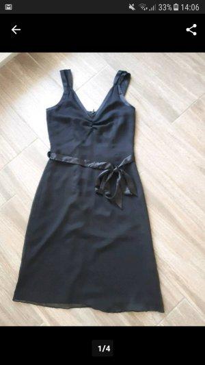 Schwarzes festliches Kleid, Abiballkleid, Comma, Gr. 34