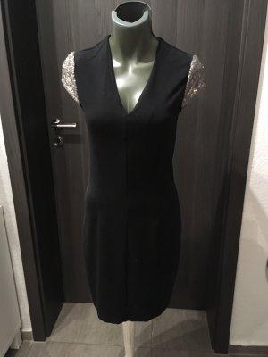 Edc Esprit Robe à paillettes noir
