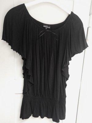Schwarzes Fledermaus-T-Shirt