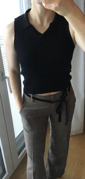 Gap V-hals shirt zwart