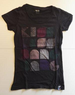 schwarzes Gio-Goi T-Shirt, Gr: M