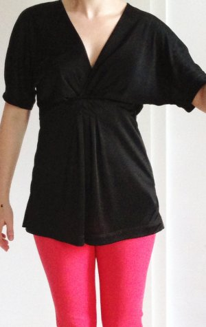 BCBG Maxazria Empire Waist Top black