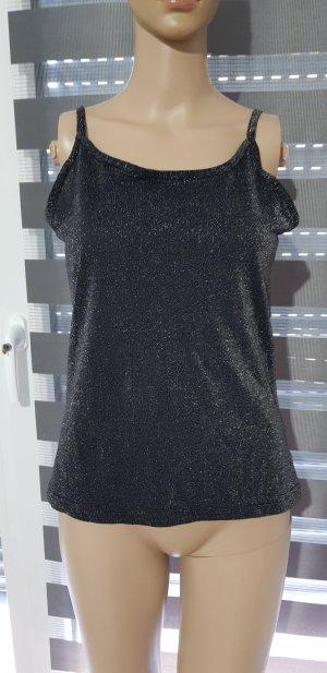 adessa Top black-silver-colored