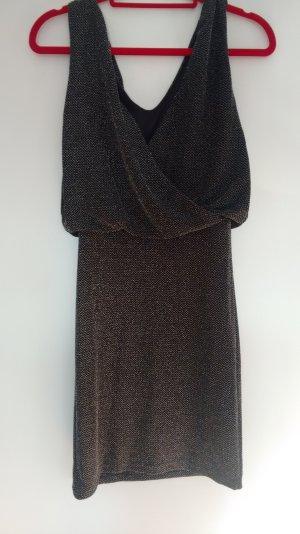 Schwarzes Glitzerkleid von Vila, NEU mit Etikett #Silvester #Partykleid