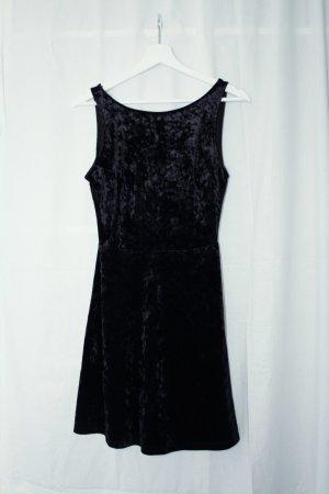 Schwarzes H&M Midi-Kleid