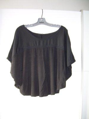 schwarzes H&M Shirt mit Fledermausärmeln Gr. L 40-42