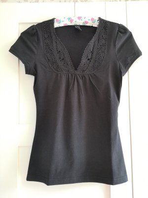 Schwarzes H&M T-Shirt