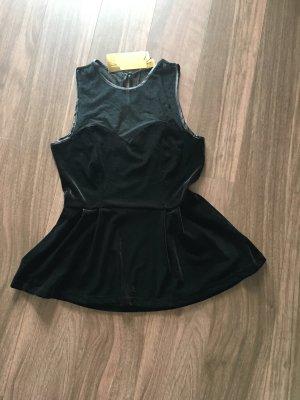Schwarzes H&M Top aus Samt