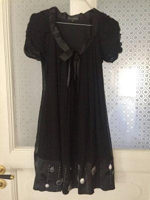 Schwarzes Hänger-Kleid Gr. 36 von Be Annvy